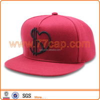customed decorative metal cute 5 panel hats