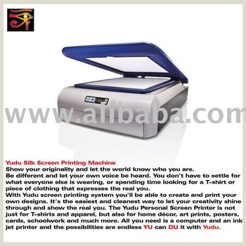 Yudu Silk Screen Printing Machine Buy Yudu Screen