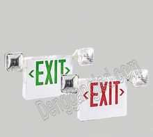 Double head LED Exit 8w exit sign emergency lighting with UL certification