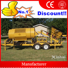 Professional Machinery Manufacturer Mineral Small Gold Trommel , Gold Trommel for Sale