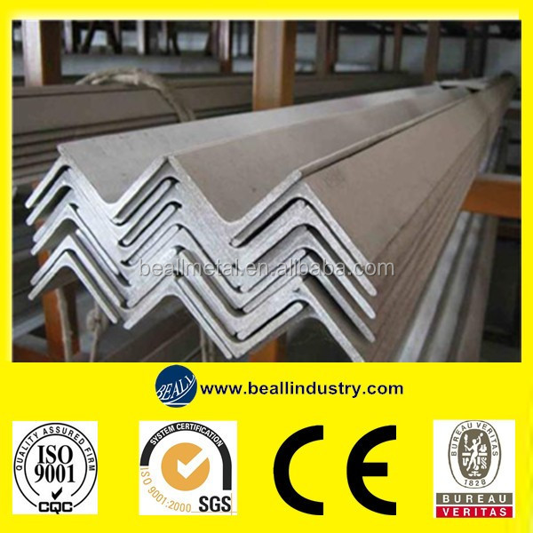 SUS 304 Perforated / Hot Rolled Stainless Steel Angle Bar Manufacture
