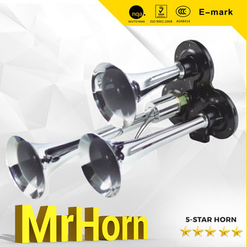 Melody Horn Triple Horn loundspeaker Electric Super Horn for Truck Bus or Train