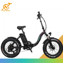 36v 350w 48v 500w 20 inch folding fat electric mountain bike , fat electric bicycle for sale