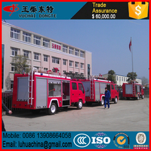 8000L howo rescue fire truck howo water tank fire truck, inflatable fire truck