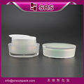 SRS high quality and good sale with beautiful color acrylic cream jar