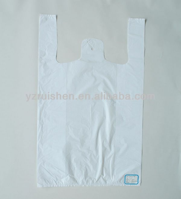 HDPE/LDPE Plastic Laundry T-shirt Shape Packing Bags
