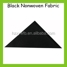 Black Fiber or Bamboo Charcoal Spunlace Nonwoven Towel Hairdressing Fabric