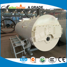 industrial steam output half ton steam boiler