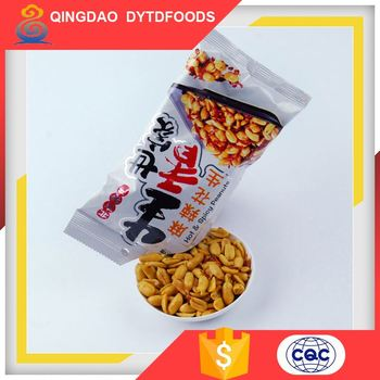 chinese hot sales bbq coated dry salted peanut