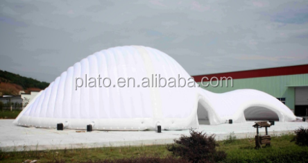 Giant White Inflatable Pavilion for Display / Event