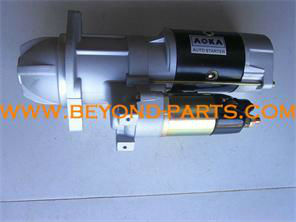 Parts of auto starter starting motor for 6D95 excavator