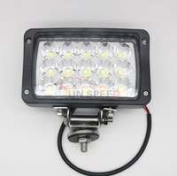 Best Auto Electrical System 6 inch 45W high low beam led tractor working lights for snomobile
