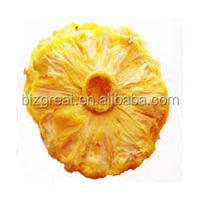 We are supplying the Frozen dried pineapple ring with excellent quality and market price