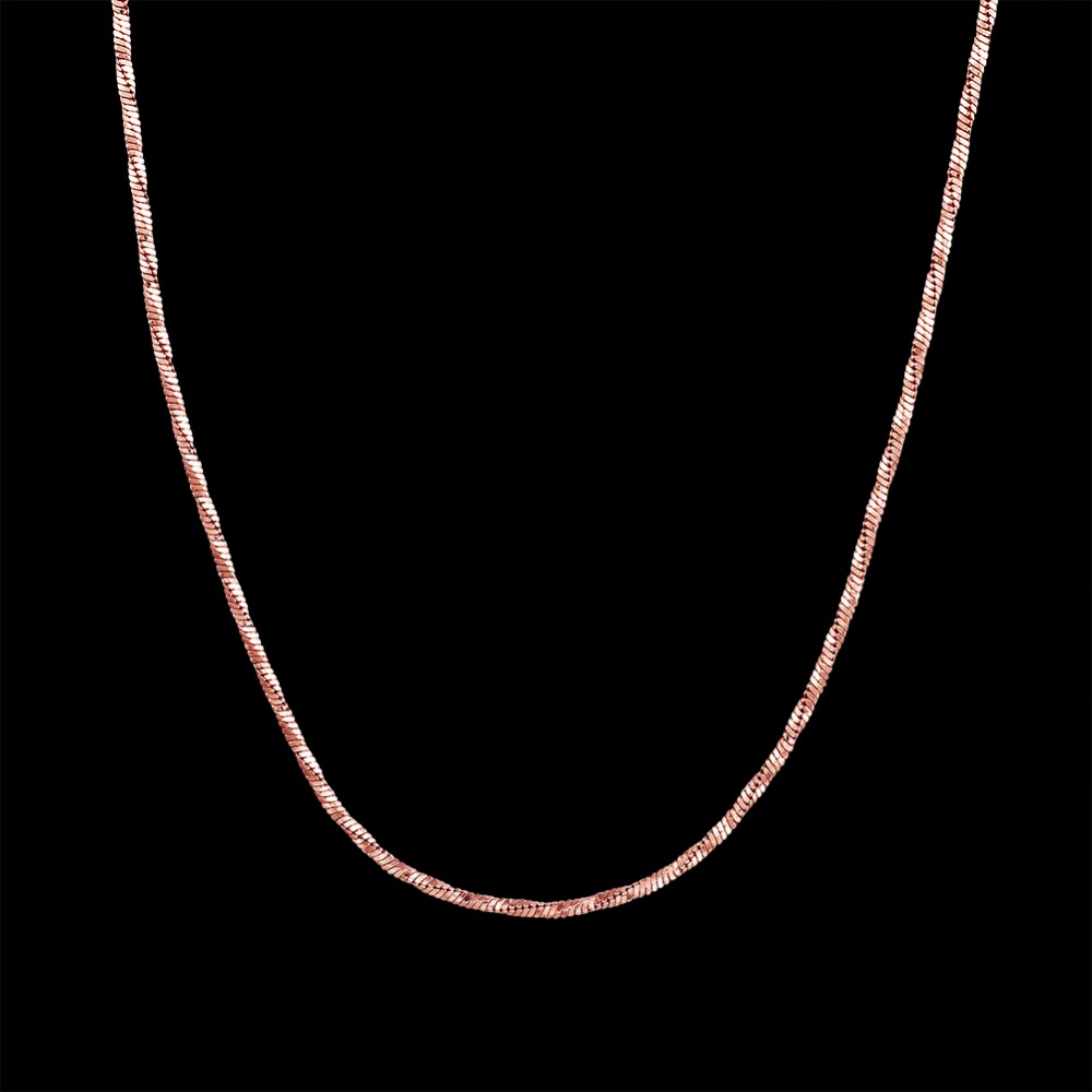 Rani haar designs rose gold plated necklace jewelries