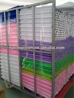 colorful nylon tulle rolls