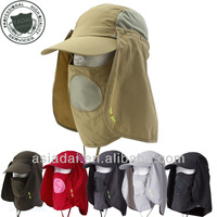 Outdoor UV Protection Fishing Hiking Cap