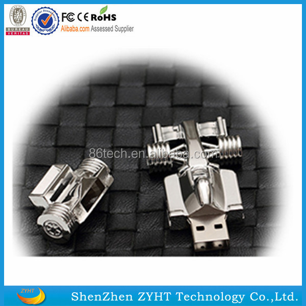 wholesale USB Flash Drive 32GB Racing Car Shape Cool Style Memory Stick Pendrive with low price