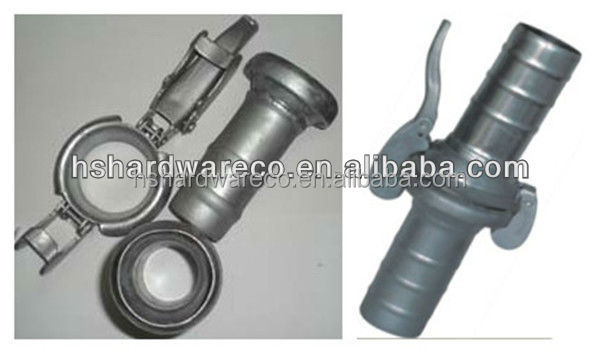 large diameter coupling Carbon steel Bauer coupling Ball & Socket Coupling (Type Bauer)