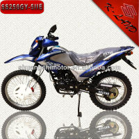 China 2012 newest style motocicleta 250cc dirt bike hot sale in South America(SS250GY-5IIE)