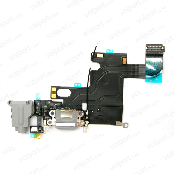 USB Dock Connector Charging Port Microphone Flex cable for iphone 6