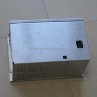 OEM sheet metal stamping aluminum electronic instrument box