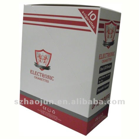 Lid can be tear off to display Electronic cigarette paper packaging box
