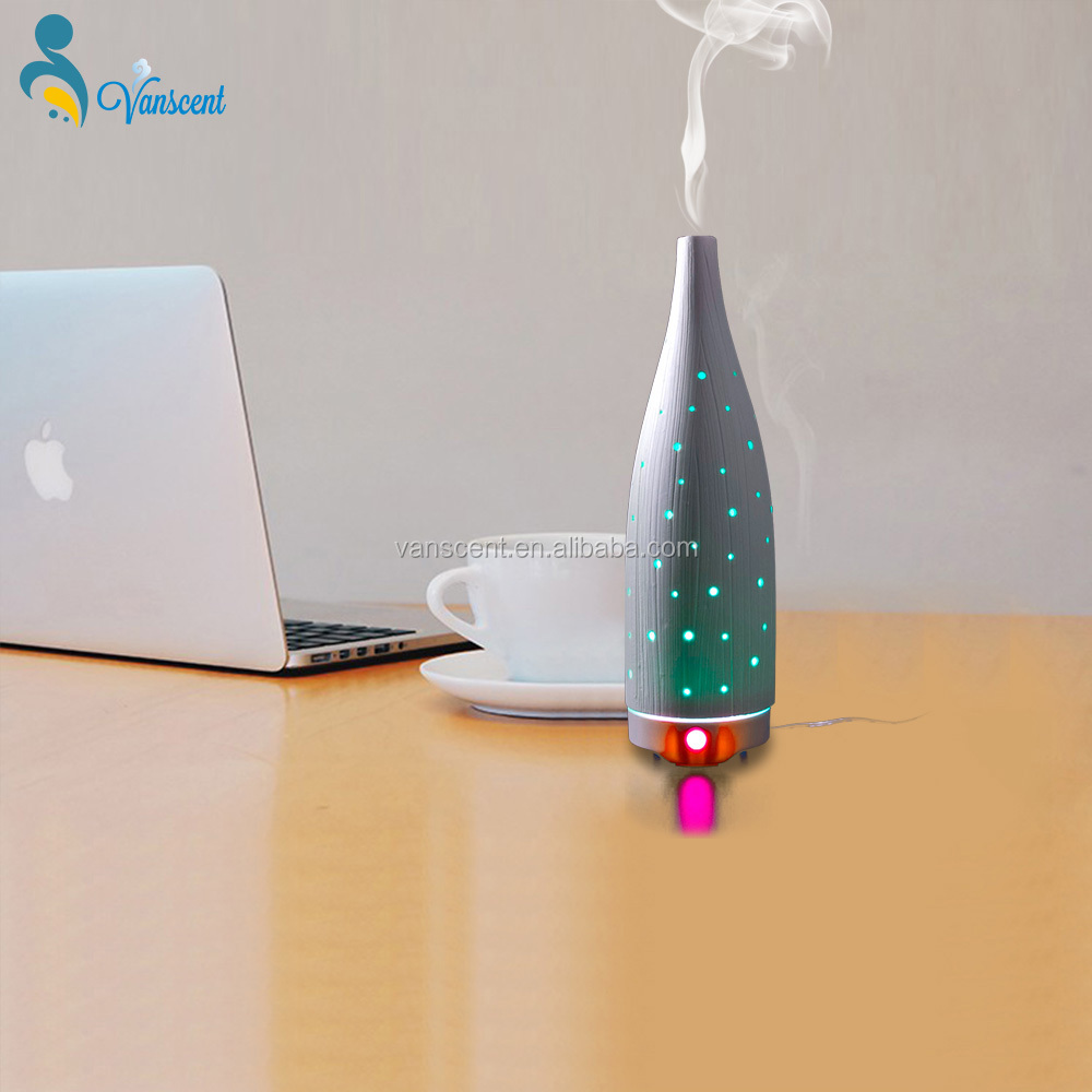 Home Ultrasonic Aroma Diffuser Scent Aroma Diffuser Fragrance Diffuser With Water Steam Air Vaporizer