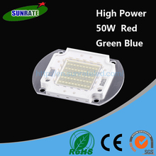 7 Years Warrantee Ultra Bright High Quality Red Green Blue High Power 50W LED Chip