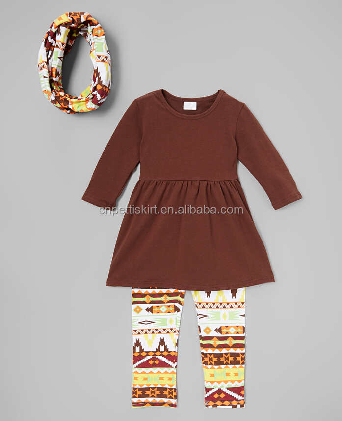 Fashion cotton organic boutique girl dress baby tripp pants wholesale children fall outfits