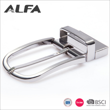 Alfa China Custom Different Types Round Metal Pin Belt Buckle Manufacturers