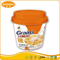 Convenience Food Flavored Instant Cereal Drink Breakfast Corn Flakes