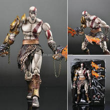 custom 7'' hot game Kratos action figures/oem collective game prototype action figures/custom action figures China manufacturer