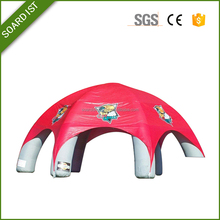 8 legs inflatable dome tent house / inflatable spider dome tent for events