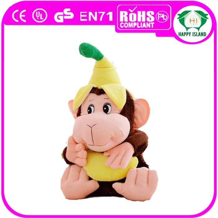2015 HI-CE Top selling lovely soft toy monkey for sale.stuffed monkey keychain