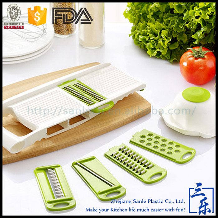 High Performance Home Use Muti Function vegetable cutter/mandoline splicer