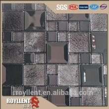2014 New iridescent glass mosaic tile glass mosaic decoration ball