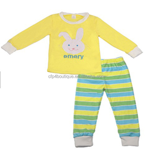 CFP C0007Easter Bunny Girl Baby Clothes Children's Clothing Sets