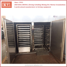 Hot air circulation industrial fruit tray dryer/ginger drying machine/ginger dryer
