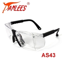 Wholesale custom PANLEES factory adjustable side shields anti-scratch RX transparent work wear safety glasses in safety goggle