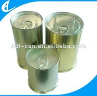 tin can packaging for snack printing can be customize