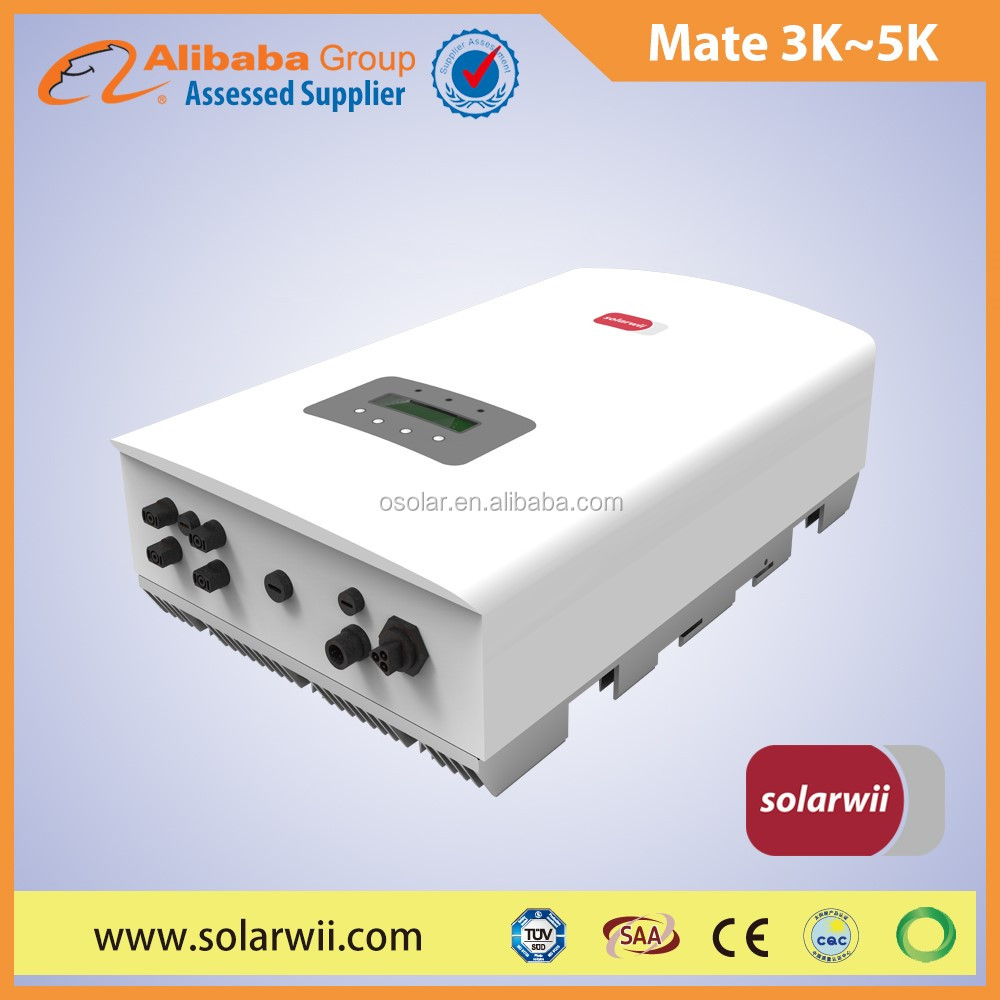 Solarwii Mate series 3kW to 5kW solar inverter best choice of home solar inverter | home solar