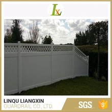 Various Colors Available Low Price Plastic Lattic Fence