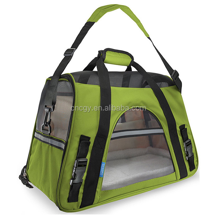 Pets Sling Carrier for Small Dog- Pet Cloth Expandable Pet Dog Carrier Bag