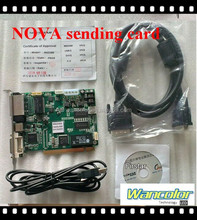 Nova MSD300 full color sending card controller support 1280*1024 pixel NOVA Synchronous full color sending card