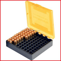 Reloading and shooting products PP clear plastic cartridge boxes