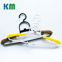 2017 New Design Tubular Swivel Expand Plastic Folding Clothes Hanger