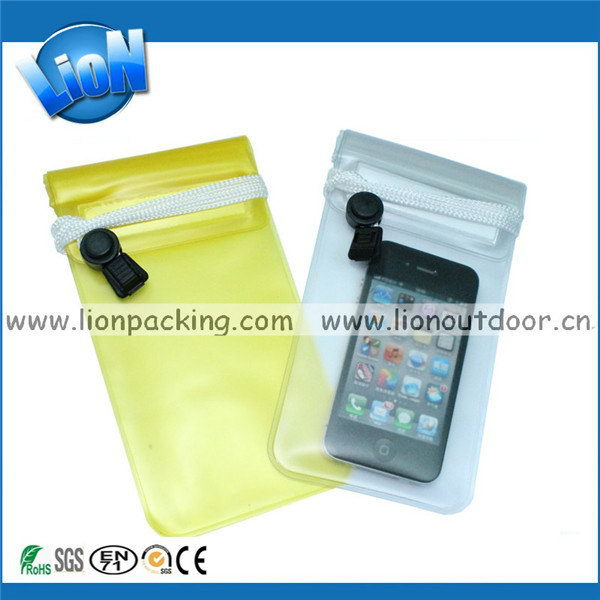 Economic best selling new pvc waterproof cell phone bag
