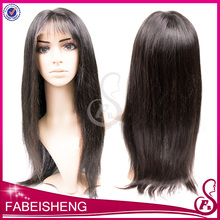 full lace human hair wig 130% density virgin hair wholesale natural wig