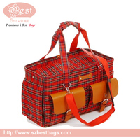 Fashion beautiful 600D durable pet cat dog carrier