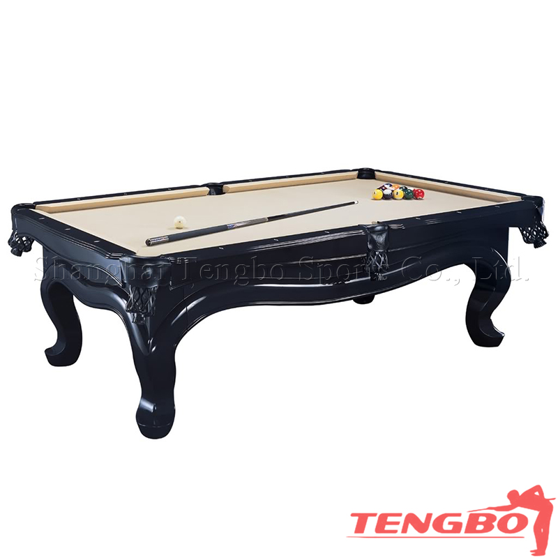 Solid wood usa billard table snooker table for sale